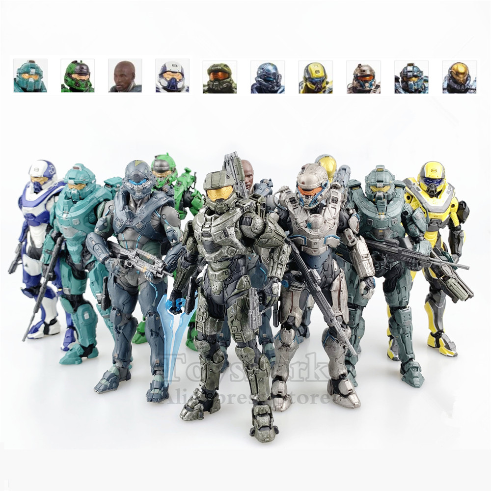 Halo 5 Guardians Chief Spartan Kelly Locke Tanaka Fred Centurion Technician Athlon 5
