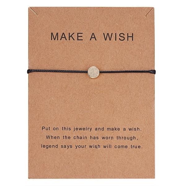 10*7,5 см Загадай перец узкое платье тканые регулируемый браслет Модные украшения подарок для Для женщин, Для мужчин, для детей - Окраска металла: BR18Y0393-1