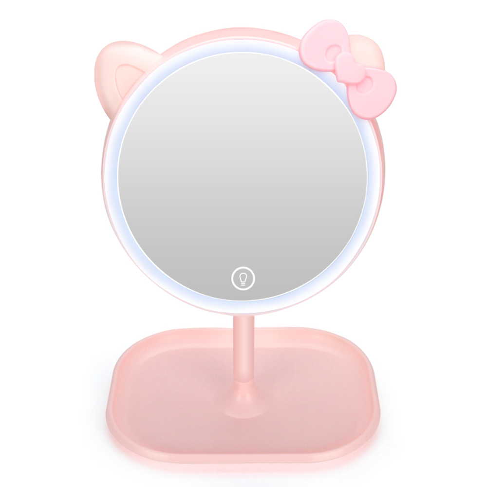 LED Fill Light Makeup Mirror Creative Gift Net Red Fill Light Beauty Lamp Creative Charging Touch Mirror Table Lamp Dropshipping