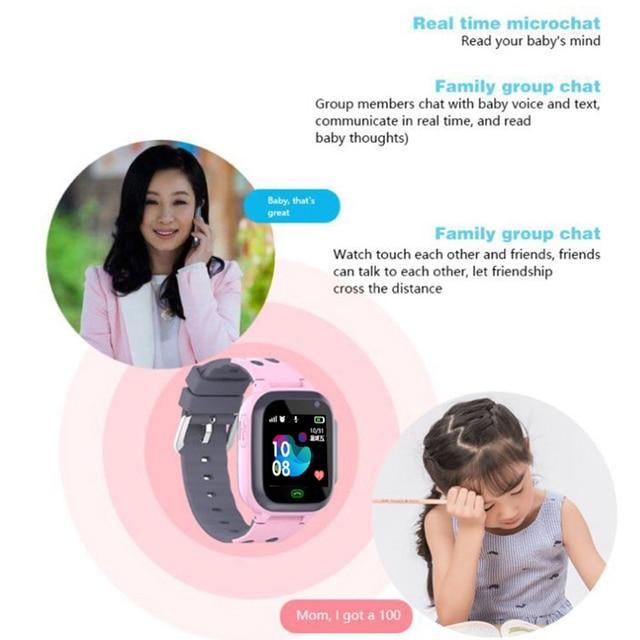 Z1 Smart Watch for Kids LBS Tracker SOS Call Anti Lost Baby Watch Children Phone Watches for Boy girls pk Q50 Q60 Q528 Q90 Q100 2