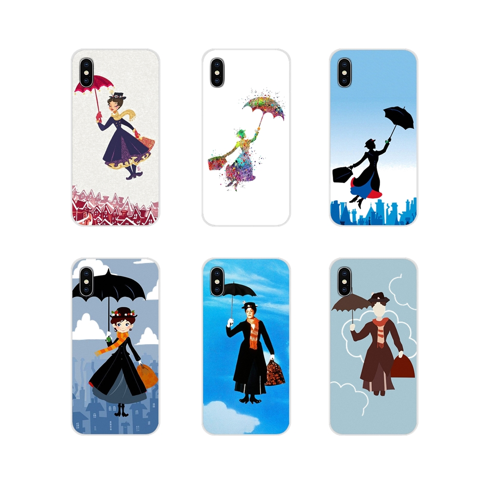 Accessories Phone Shell Covers <font><b>Mary</b></font> <font><b>Poppins</b></font> For <font><b>Samsung</b></font> Galaxy S2 S3 S4 S5 Mini S6 S7 <font><b>Edge</b></font> S8 S9 S10E Lite Plus image