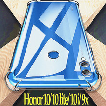 For honor 9X Huawei Honor 9X case Full Protection Soft Clear TPU Silicone Cases Honor 10i Crystal Phone Case honor 10 lite for honor 9 huawei honor 9 lite case full protection soft clear tpu silicone cases honor 9x crystal phone case honor 9 x cover