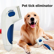 Pet Dog Flea Lice Cleaner Comb Electric Dog Flea Cleaning Brush Anti Flea Dog Comb Electron