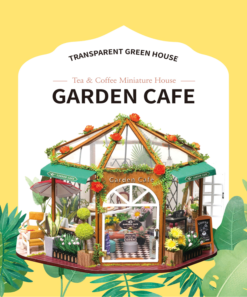 Garden Cafe DIY Miniature Kit - GD01A
