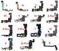 Heyman Câble souple pour Apple iPhone 4/4s/5/5s/5C/SE/6/6splus/7plus/8/X/Prise casque/port dock USB connecteur de charge  micro