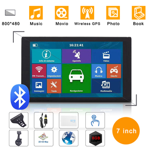 7 inch capacitive car GPS HD n