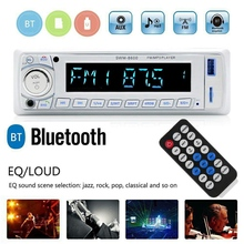 Estéreo do carro 8600 bluetooth mp3 player rádio fm usb aux mp3/wma/wav controle remoto