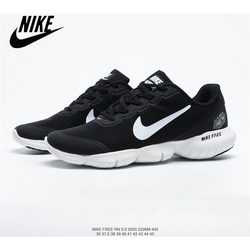 Nike Free Rn 5.0 2020 Barefoot Elasticity Lightweight Shock Absorption Women's Jogging Shoes