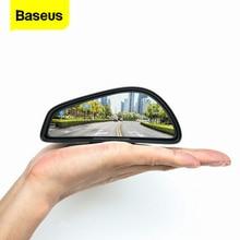 Baseus 2Pcs Car Blind Spot Mirror Traffic Road Security Auto Parking Mirror Blindspot Glass Rear View Rearview Car Convex Mirror