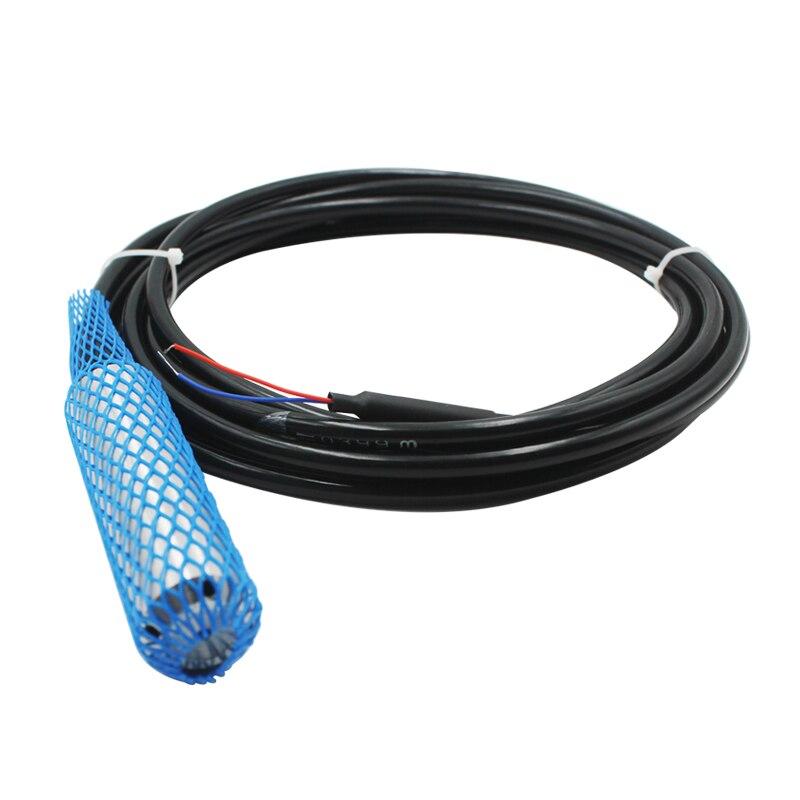 Bas prix 4-20mA sortie transmetteur de niveau de liquide 0-500m gamme capteur de niveau d'eau