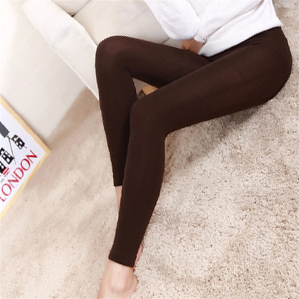 Casual Warm Faux Velvet Winter Leggins Women Leggings Knitted Thick Slim Super Elastic Women Pants