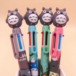 Image 3 - 36 pcs/lot Totoro 6 colors Ballpoint Pen Cartoon animal ball pen School Office writing Supplies Stationery Gift