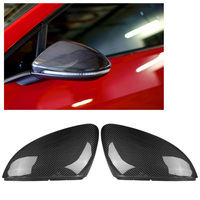 1 Pair Carbon Fiber Rearview Mirror Shell Cover for Golf MK7 MK7.5 for Golf 7 for GTI for Golf R 2013 2014 2015 2016 2017 2018