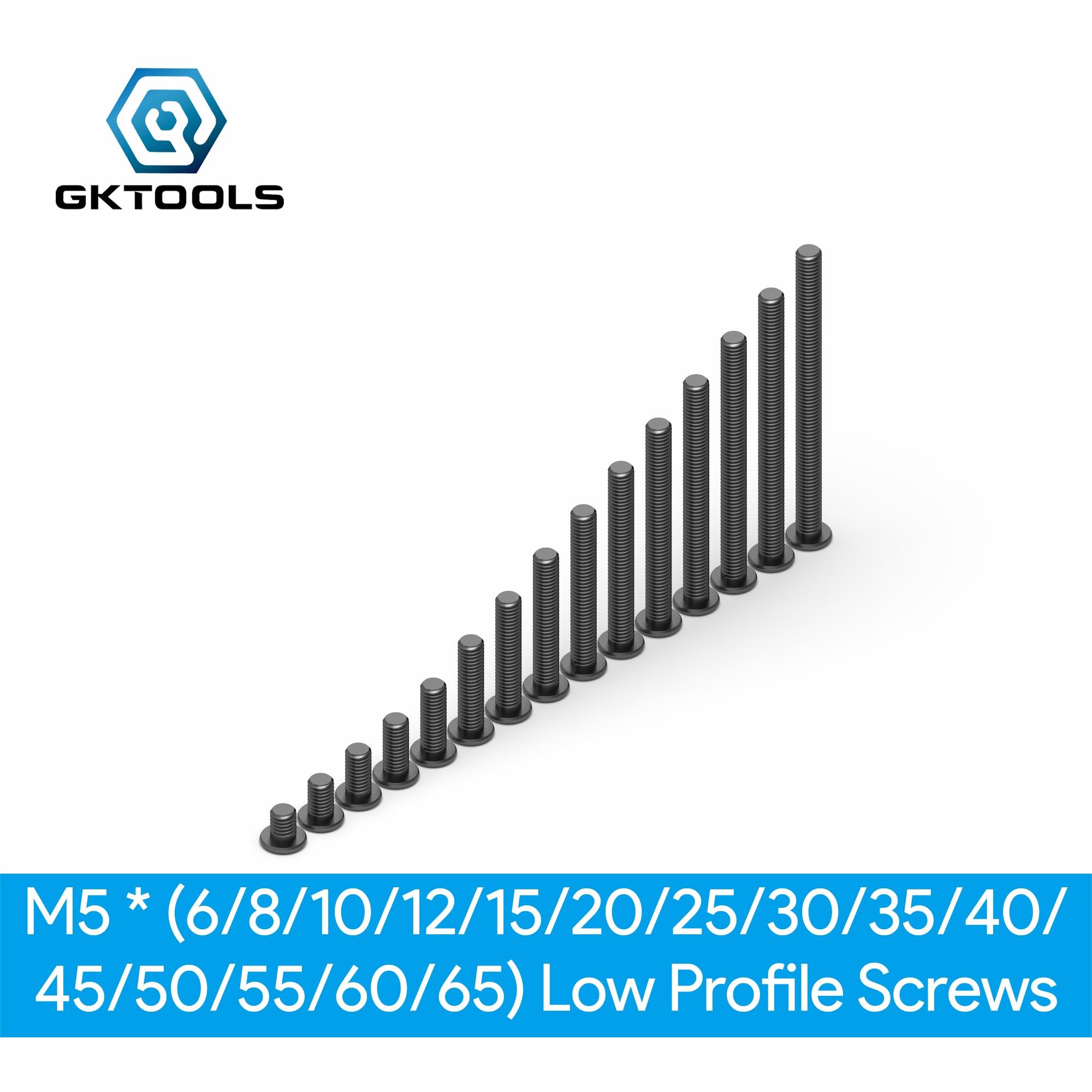 Openbuilds parafusos de perfil baixo m5