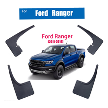 цена на For Ford Ranger Mudflaps Mudguards Splash Guards Mud-Flaps Car Fenders Accessories Mud Guards Rear Front 2011-2019