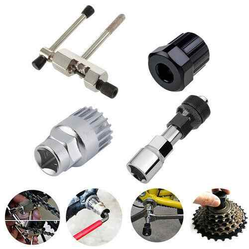 Mountain Bike MTB Bicycle Crank Chain Axis Extractor Set Removal Repair Tool Kit