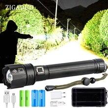 Xhp90 xhp90.2 xhp70.2 Мощный USB светодиодный фонарь, ручная лампа 26650 18650, перезаряжаемый тактический фонарь