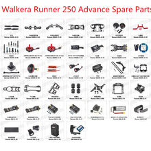 Walkera Runner 250 Advance RC drone Onderdelen blade motor ESC GPS light charger camera etc Alle accessoires(China)