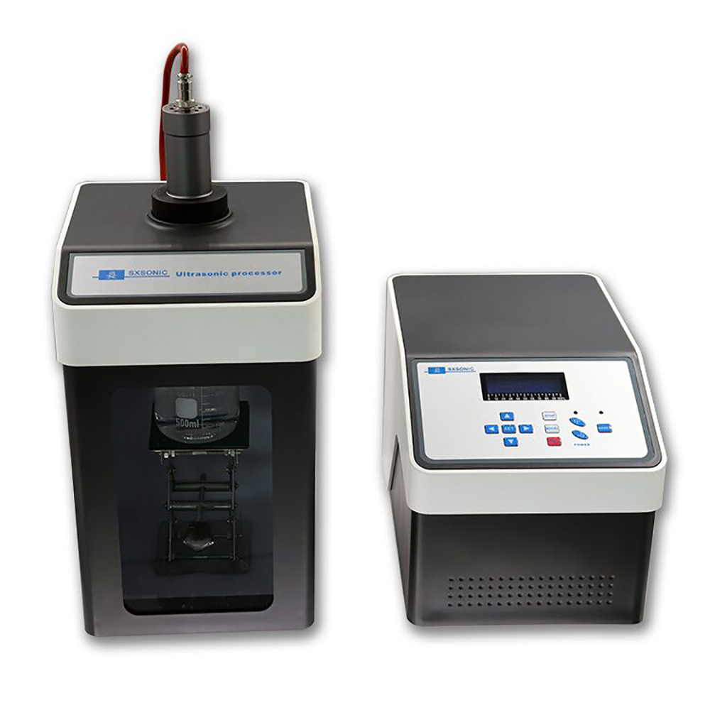 Newest model CE ISO Ultrasonic Homogenizer Sonicator Processor Cell Disruptor Mixer 80W 20KHZ 500ul-80ml FS-150N image