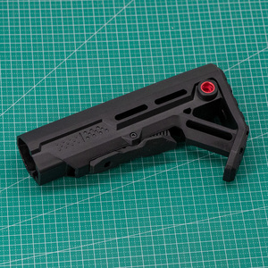 Image 4 - High Quality Tactical Nylon Stock for Gel Blaster Airsoft Air Guns JinMing8 JinMing9 AR15/M4 M16 Mini Toy Paintball Accessories