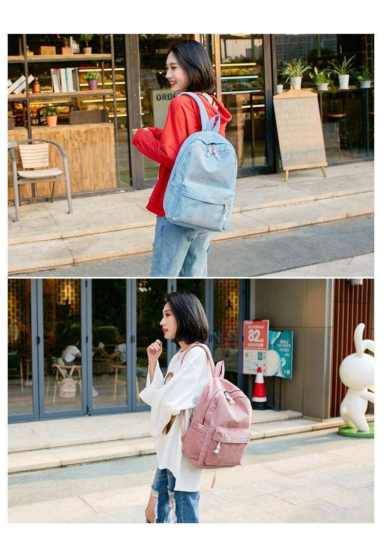 escola mochila para adolescentes meninas listrado mochila
