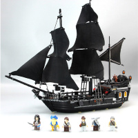 2019 Pirates of The Caribbean Black Pearl Ship Compatible Legoinglys Caribbean 4184 Building Blocks DIY Toys for Children Gifts