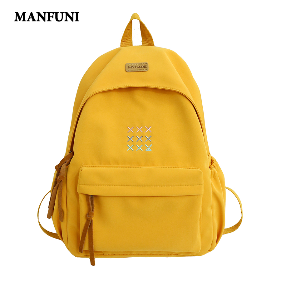 2020 Teenage Girl School Bag Fashion Korean Style Backpack Women Travel Backpacks BookBag Mochilas Female Large Capacity Backbag
