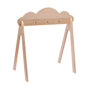 1pc Wooden Gym Play Holder Clo