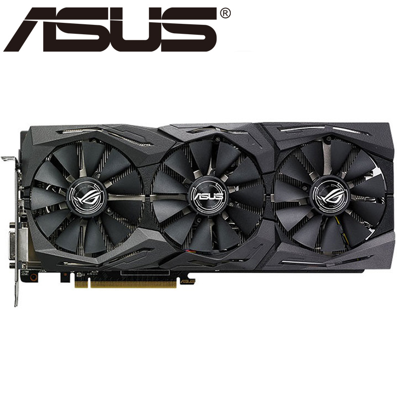 ASUS Video Card RX 580 8GB 256Bit GDDR5 Graphics Cards for AMD RX 500 series VGA Cards RX580 Used DisplayPort 570 560|Graphics Cards| - AliExpress