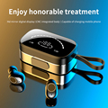 Latest K2 Bluetooth Earphone with Microphone Wireless TWS Earbuds with Mirror Display Airdots Deep bass In-ear Gaming Headphone