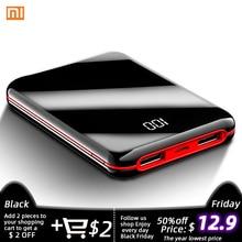 Xiaomi power Bank 30000 мАч, Аксессуары для мобильных телефонов, полноэкранный мини внешний аккумулятор, USB портативное зарядное устройство для IPhone, внешний аккумулятор