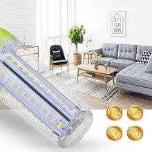 E27 LED Corn Lamp E14 Bulb Smart Light E27 LED Spotlights Bulb 10W 15W 20W Candle Lamp Indoor Chandelier Bulb Lighting Lampara