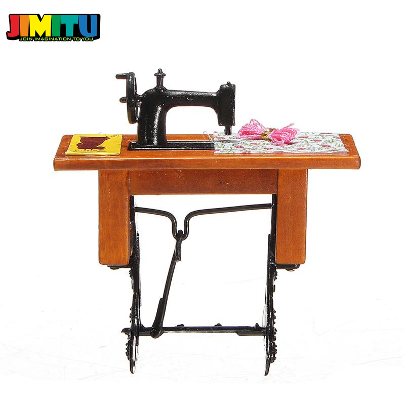 1//6 Scale High Simulation Sewing Machine Model for Hot Toys Action Figures