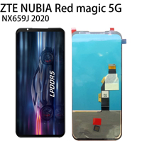 New AMOLED 6.5 For ZTE Nubia Red Magic 5G NX659J LCD Display + Touch Screen Digitizer Assembly Phone Repair Parts + Tools