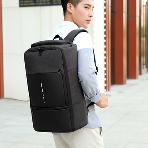 Image 2 - Fashion Trend Mens Laptop Backpack 2020 Large Capacity Oxford Cloth Waterproof Charging USB Travel Bag Male Business Backpack