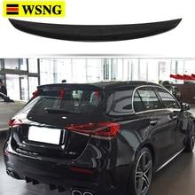Rear Trunk Spoiler for Mercedes Benz A class W177 2019 2020 2021 A180 A160 A200 A220 A250 A45 A35 Hatchback ABS Car Tail Wing