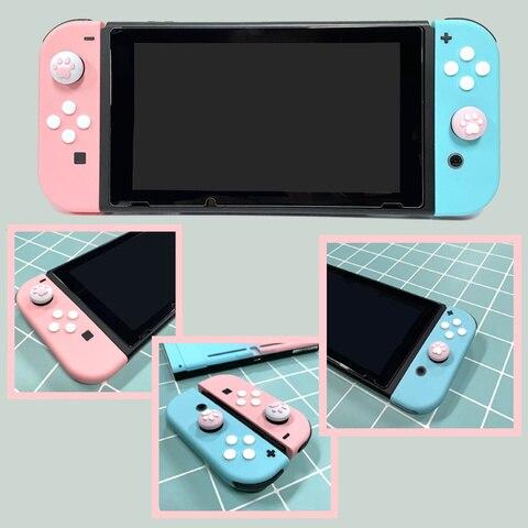 Цветной джойстик для nintendos switch ns nx консоль joy con