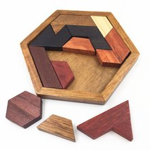 Puzzles Intelligence Luban locks china traditional unlock toy Baby Wooden Puzzle Brain Teaser games Magic Educational Toys цена