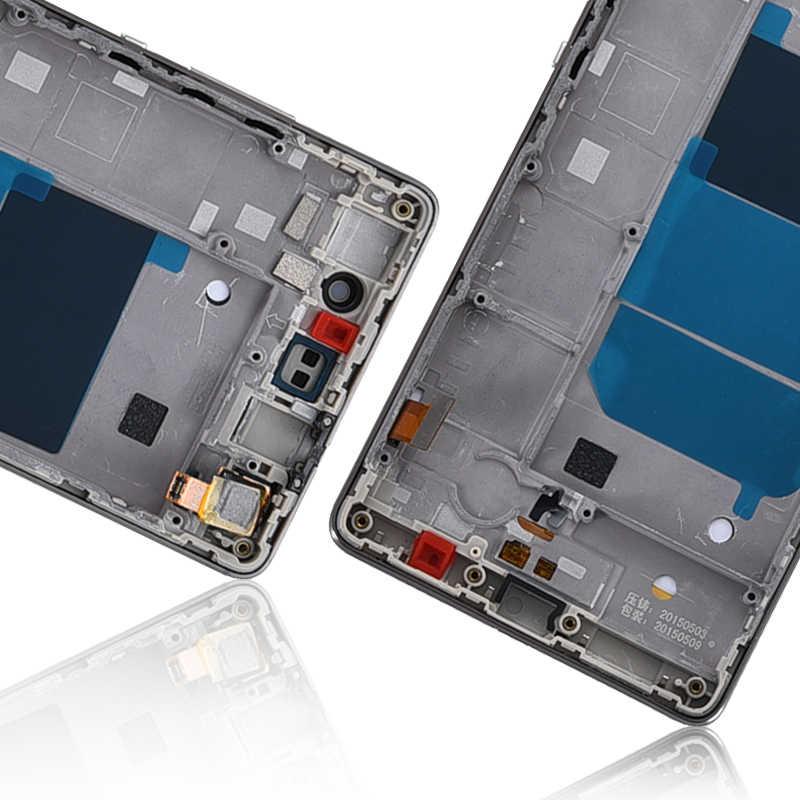 Dành Cho Huawei P8 Lite LCD ALE-L04 ALE-L21 TL00 L23 CL00 L02 UL00 Màn Hình Bộ Số Hóa Cảm Ứng Phần Có Khung cho P8