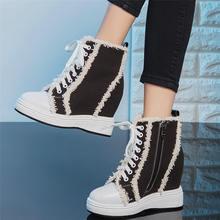 Повседневная обувь; Женские туфли из коровьей кожи на шнуровке;