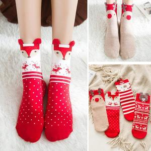 Cotton Christmas Socks Christmas Decorations for Home Xmas Gifts Christmas Decoration Navidad 2020 Noel Decor Natal New Year