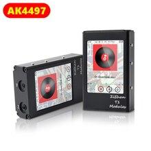 Zishan T1 4497 AK4497EQ DAC DAP מגע מסך מקצועי Lossless מוסיקה נגן MP3 HIFI נייד DSD עם 2.5mm מאוזן AK4497