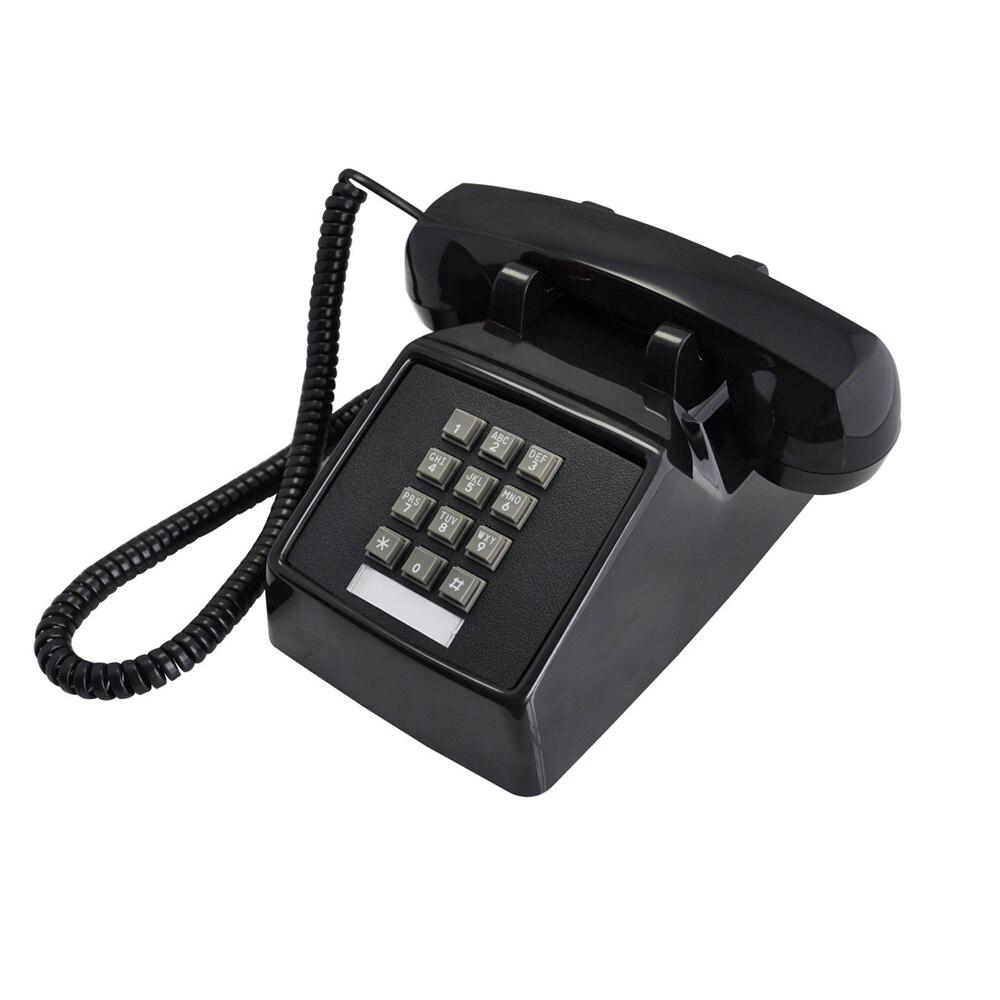 Corded Single Line Telephone Retro Telephones Land Line Old Fashion Hearing Impaired Landline Telephones for Seniors Home Hotel