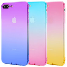 Soft TPU Rubber Dirt Resistant Phone Case For iPhone 8 plus 7plus Anti Skid Dust Plug With Lanyard Hole protective tpu back case w anti dust plug for iphone 5 translucent purple