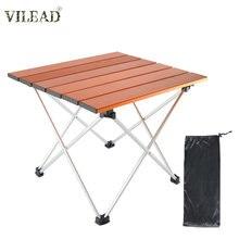 Складной стол vilead из алюминиевого сплава 2 размера для пикника