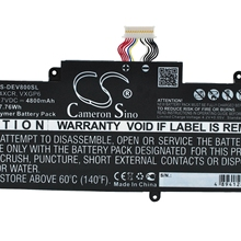 Cameron Sino 4800mAh Battery 74XCR, VXGP6 for DELL T01D, T10D-5830, Venue 8 Pro