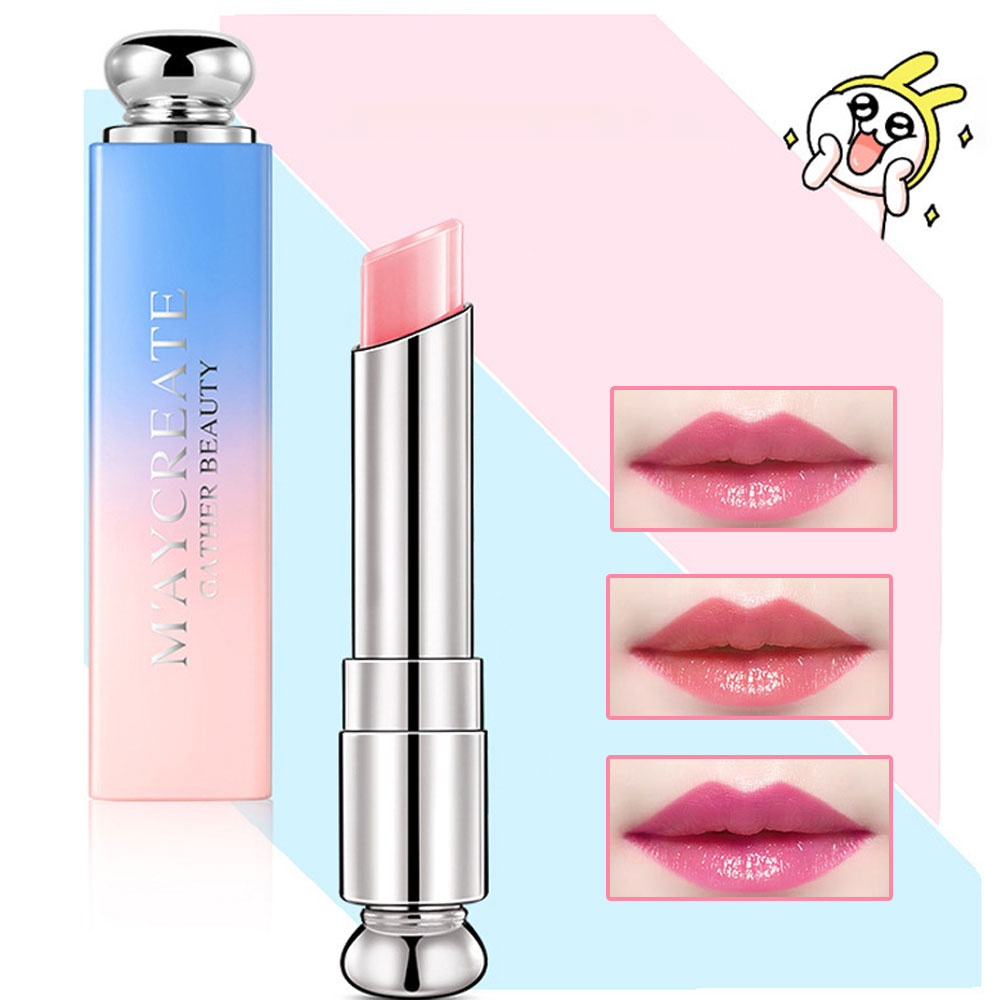 Chameleon Lip Balm Women Makeup Long Lasting Nutritious Moisturizing Winter Protect Lips Balm Cosmetics Lip Tint Korean Cosmetic