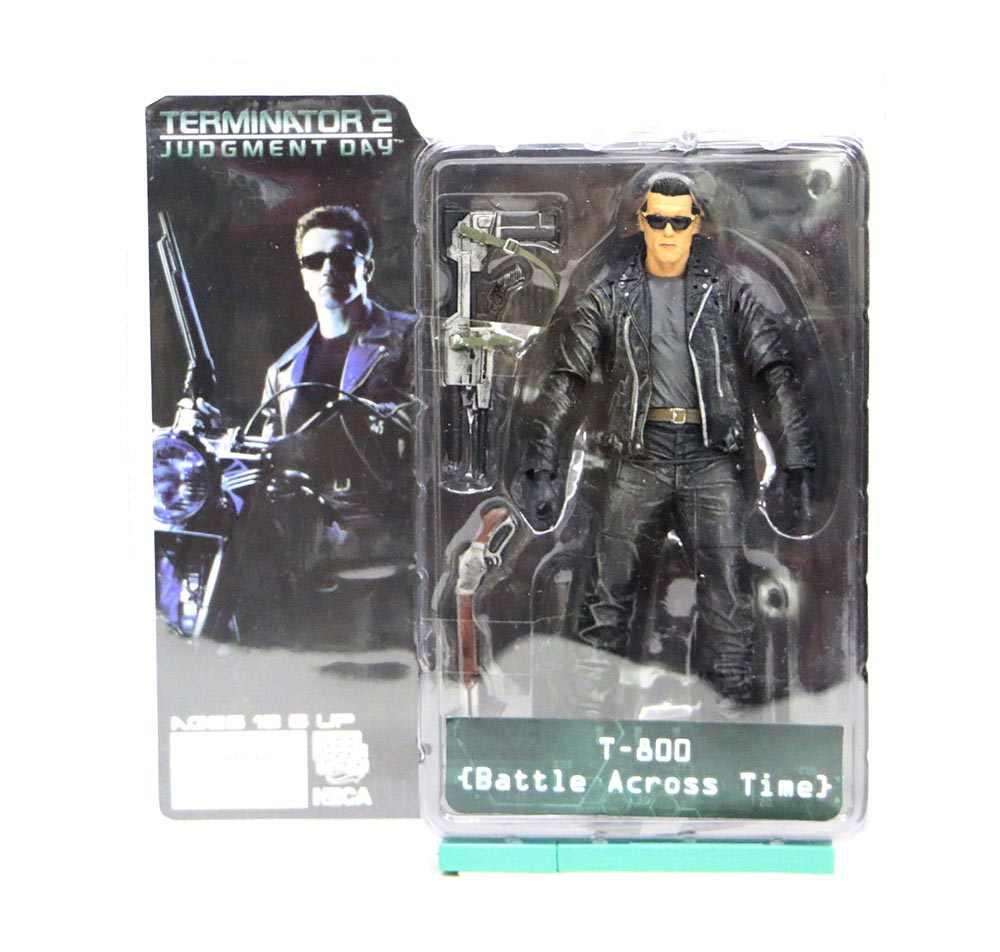 7 tipos 18cm NECA The Terminator 2 figura de acción T-800 T-1000 de PVC figura de acción modelo coleccionable juguetes muñecas regalo