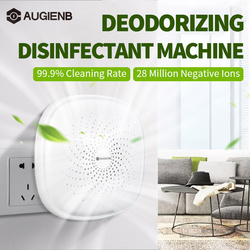 AUGIENB Ozone Deodorizer Sterilizer O3 Generator Negative Ion Air Purifier Formaldehyde Bacteria Remover for Bedroom Living Room