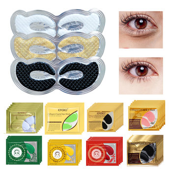 Collagen Eye Mask Face Mask Gold Mask Eye Patches Under the Eyes Care Anti-puffiness Eyelid Patch Gel Eye Pad Anti-Aging Wrinkle 5 8 10pair eye mask collagen gold eye patch under the eyes bags anti wrinkle anti aging dark circles moisturizer gel eye patches